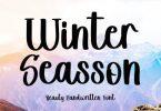 Winter Seasson Font