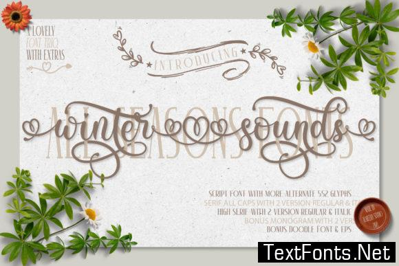 Winter Sounds Font