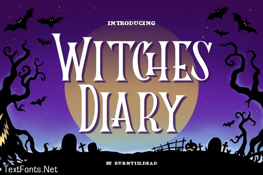 Witches Diary Font