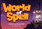 World of Spell - Cartoon Font