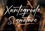 Xantegrode Signature Font LS