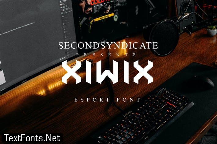 Xiwix - Esport Font