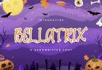 Bellatrix - Halloween Font