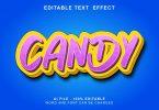 Candy 3d Text Effect