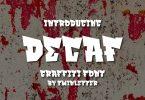 Decaf Font