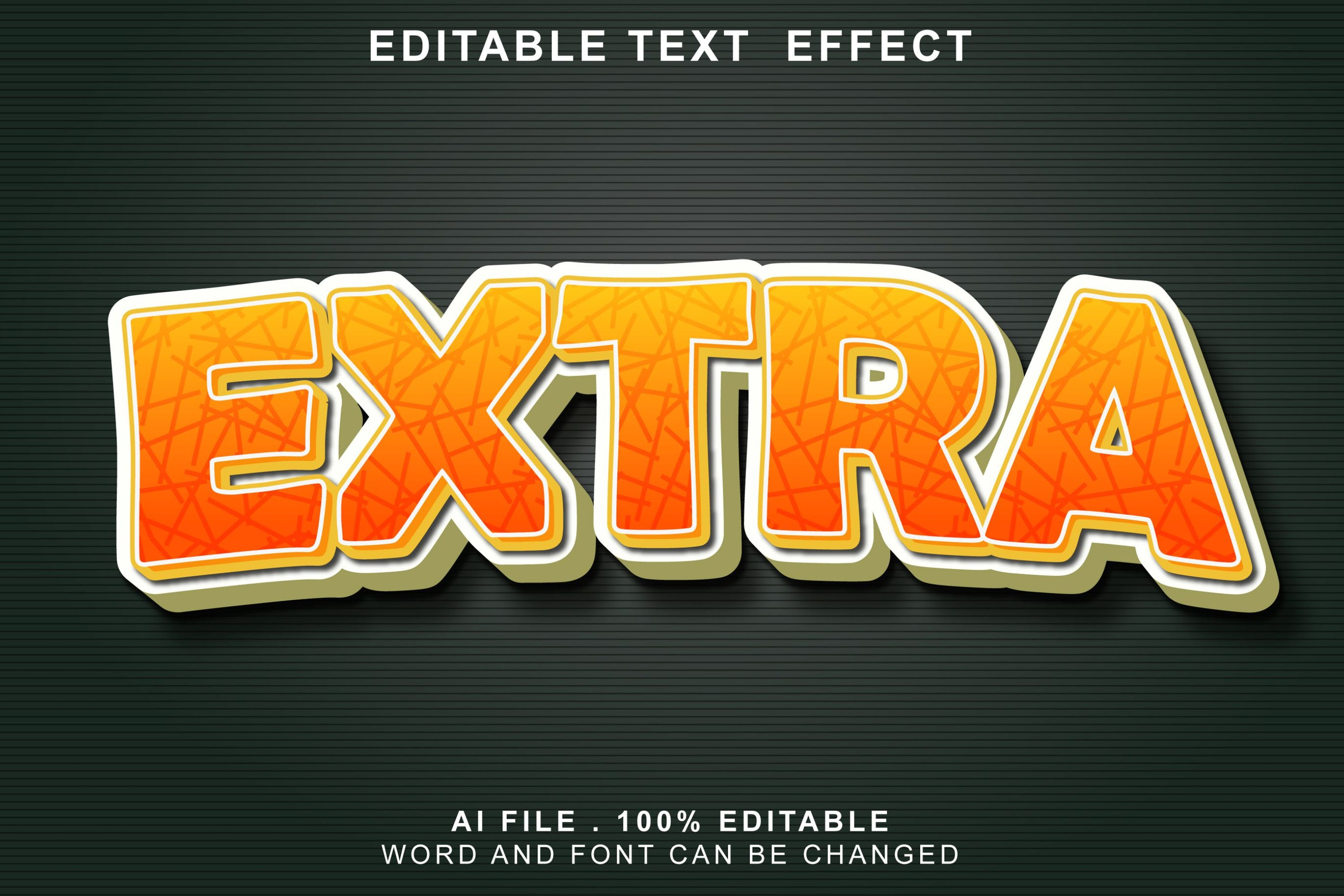 extra 3d text effects