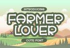 Farmer Lover - Display Font