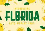 Florida - Display Font