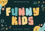 Funny Kids - Cute Display Font