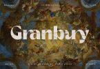 Granbury - Modern Bold Sans