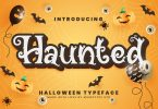 Haunted Halloween Typeface