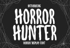 Horror Hunter - Handwritten Display Font