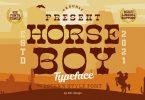 Horse Boy Typeface Font