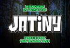Jatiny Font