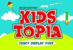 Kids Topia - Fancy Display Font