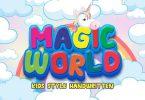 Magic World - Kids Style Handwritten Font