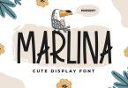 Marlina - Cute Display Font