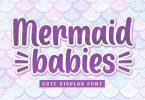 Mermaid Babies - Playful Font