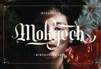 Mokgech Typeface Font