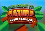 Nature Gaming Text effect editable