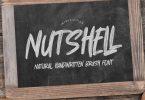 Nutshell - Natural Handwritten Brush Font
