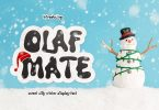 Olaf Mate Typeface