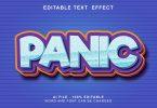 Panic 3d Text Effect