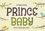 Prince Baby - Cute Display Font