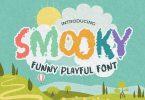 Smooky - Funny Playful Font