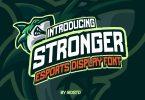 Stronger Font esports